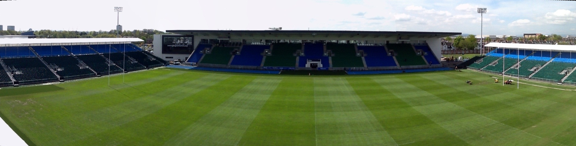 Scotstoun stadium ready for action this saturday