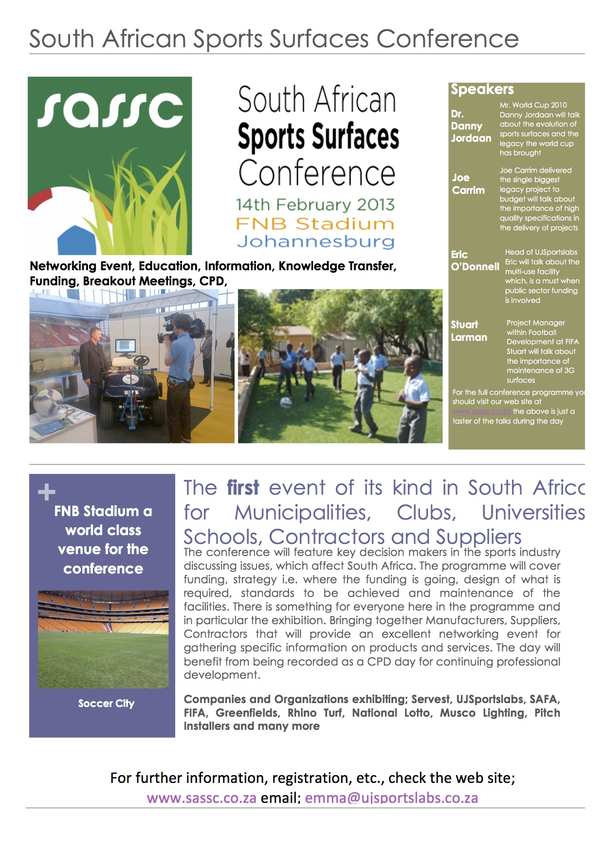 Sports Surfaces Conference